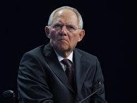 Министр финансов Германии Вольфганг Шойбле