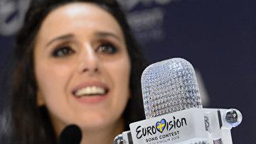 Певица Джамала, победившая в финале международного конкурса «Евровидение-2016»