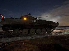 Учения 4-й гвардейской Кантемировской танковой дивизии
