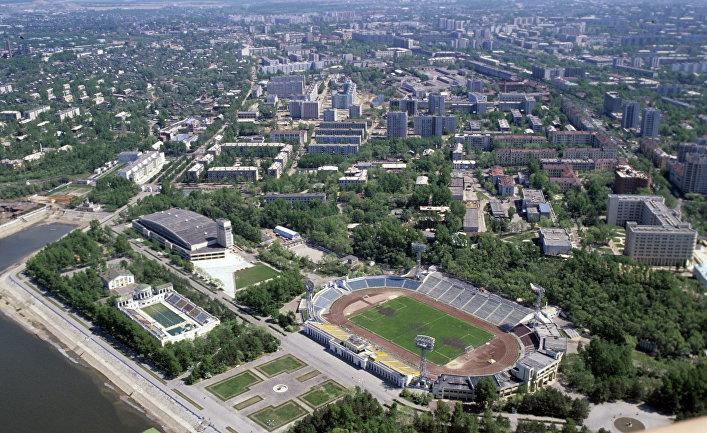 Вид на город Хабаровск