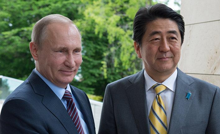 Абэ назвал Владивосток воротами изЕвразии вТихий океан