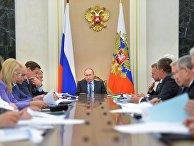 Владимир Путин провел заседание президиума Экономического совета