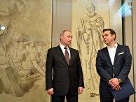 Визит президента РФ В. Путина в Грецию