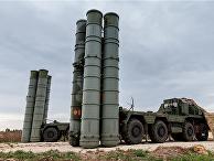 Зенитно-ракетный комплекс С-400 на российской авиабазе Хмеймим, Сирия