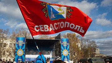 Акция «Служба по контракту в вооруженных силах — твой выбор» в Севастополе