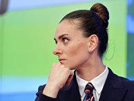 Заслуженный мастер спорта России по легкой атлетике Елена Исинбаева