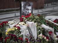 Место убийства Бориса Немцова