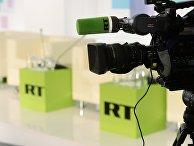 Лого телеканала Russia Today