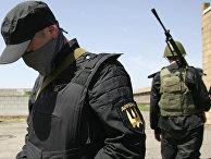 Бойцы батальона «Донбасс» в поселке Великая Новосёлка под Донецком