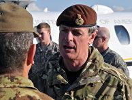 Офицер армии Великобритании в отставке сэр Ричард Ширрефф