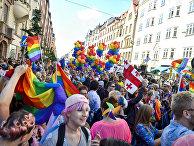Ежегодный гей-парад в Стокгольме