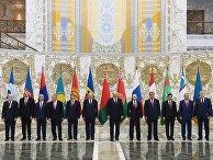 Рабочий визит Владимира Путина в Белоруссию