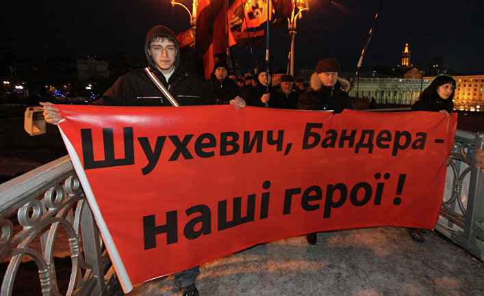 Митингующие вКиеве потребовали отмены переименования проспекта Генерала Ватутина
