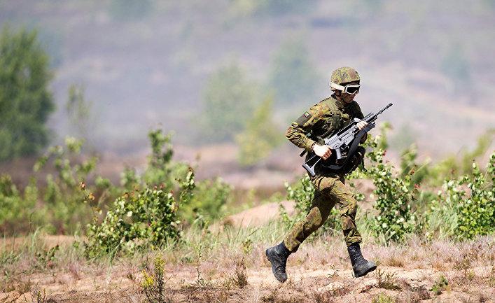 Военные учения NATO «Iron Wolf 2016»