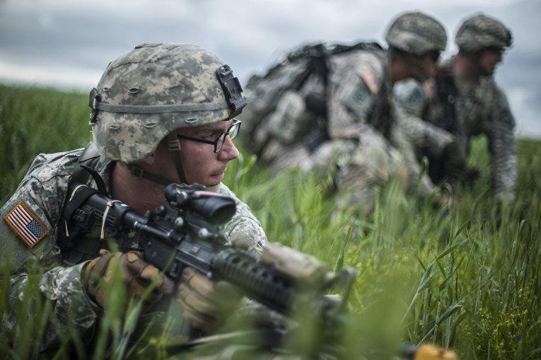 Военные учения НАТО в Косово