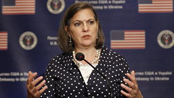 Помощник государственного секретаря США по делам Европы и Евразии Виктория Нуланд