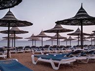 На территории одного из отелей Шарм-эш-Шейх