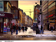 На одной из улиц Осло, Норвегия