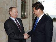 Владимир Путин встретился с председателем КНР Си Цзиньпином