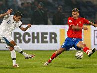 Отборочный этап чемпионат Европы-2008 по футболу. Россия – Израиль – 1:2