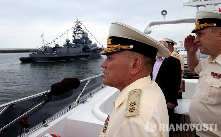 Уволено руководство балтийского флота