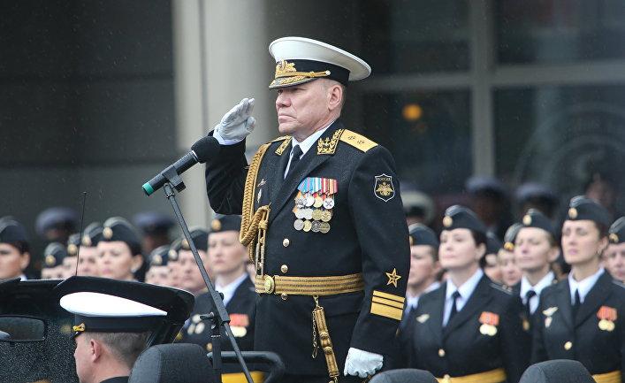 Руководство балтийским флотом