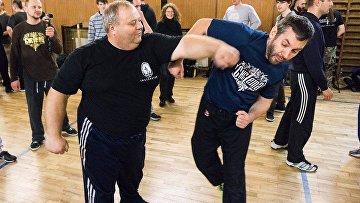 Тренировочный бой в организации «Единоборства древней Руси»