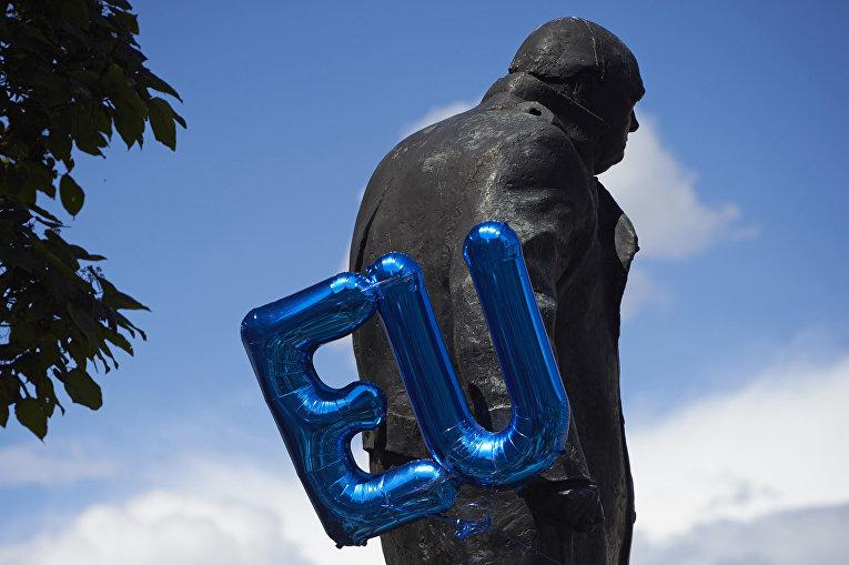Памятник Уинстону Черчиллю в Лондоне