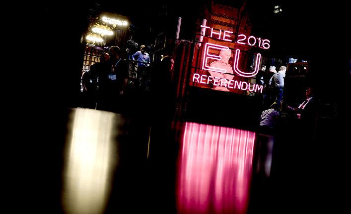 Референдум в Манчестере по сохранению членства Великобритании в ЕС