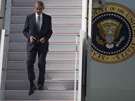 Президент США Барак Обама прибыл с официальным визитом в Испанию
