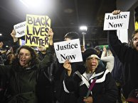 """Акция протеста """"Жизнь чернокожего имеет значение"""" в Миннеаполисе"""