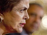 Совместная пресс-конференция Барака Обамы и Дилмы Русеф в Белом доме