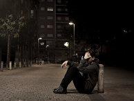 Ночью на улице