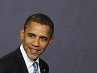 Президент США Барак Обама на заседании НАТО в Лиссабоне