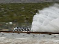 Испытания вакуумного поезда Hyperloop в Лас-Вегасе