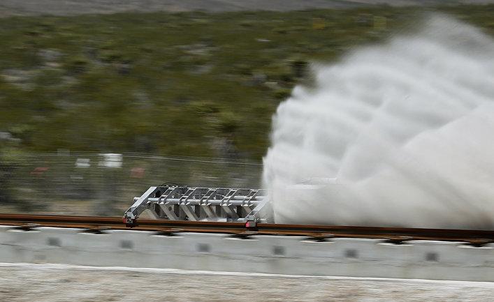 Омелян рассказал, где создадут тестовую площадку для Hyperloop