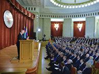 Президент РФ В. Путин выступил на совещании послов и постпредов РФ в иностранных государствах