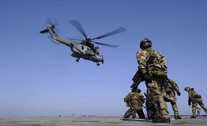 солдаты сухопутных войск западных стран войдут на ливийскую землю