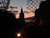 Закат в центре Москвы