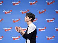 Лидер немецкой правой партии «Альтернатива для Германии» Фрауке Петри