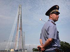 Подготовка дорожно-патрульной службы Владивостока к саммиту АТЭС