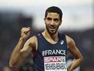 Французский спортсмен Махидин Мехисси-Бенаббад