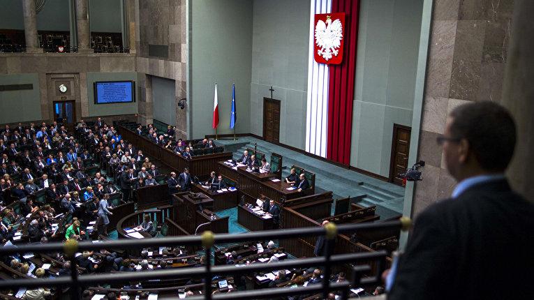 Заседание Сейма Республики Польша