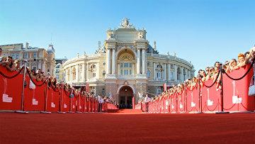 Главная площадка Одесского международного кинофестиваля
