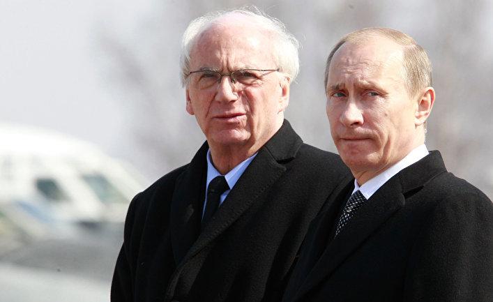 Владимир Путин и Ежи Бар