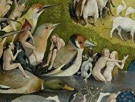 Иероним Босх. Фрагмент триптиха «Сад земных наслаждений»