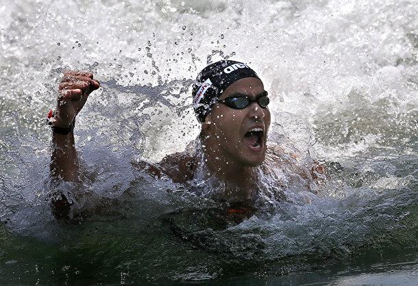 Пловец из Туниса Усама Меллули