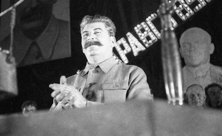 Генеральный секретарь ЦК КПСС Иосиф Сталин