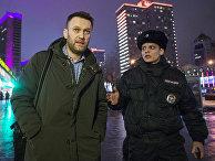 Алексей Навальный едет на радио «Эхо Москвы»