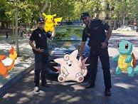 Национальная полиция Испании и игре в Pokemon GO